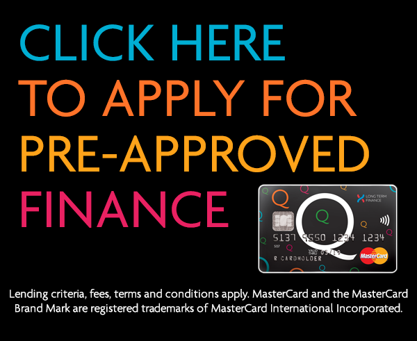 Q Card Pre-Approved Finance
