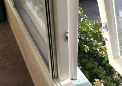 Heritage Secondary Glazing sliding system over timber joinery